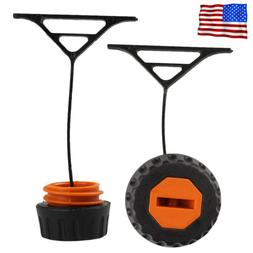 2x Gas Fuel Cap & Oil Cap For Stihl 020 021 023 024 025 026