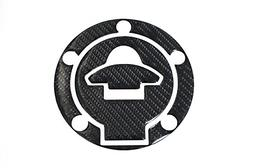 3D Carbon Fiber Tank Gas Cap Pad Filler Cover Sticker Decals