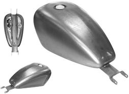 Bikers Choice EFI Sportster Gas Tank - Indented Style - 3.3