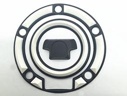 Decal Story 3d Rubber White Fuel Gas Cap Pad Sticker Decal F