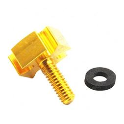 Decal Story Aluminum Golden Seat Bolt Tab Screw Quick Mount
