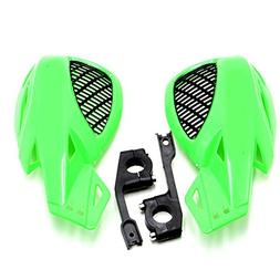 Decal Story Motocross Motorcycle Green Hand Guards Hand guar