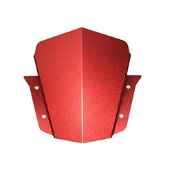 Decal Story Red Front Upper Headlight Top Mount Cover Panel
