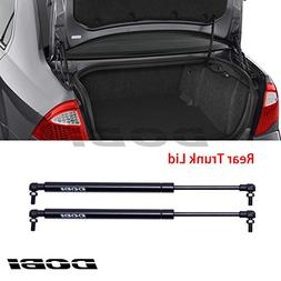 VIOJI New 2pcs Rear Hatch Trunk Lid Black Steel Gas Lift Sup