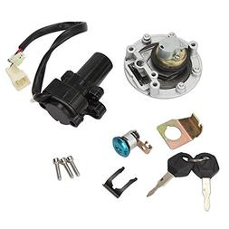 INNOGLOW Motorcycle Ignition Switch Key Fuel Gas Cap Tank Co