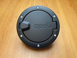 Jeep Wrangler Unlimited Black Satin Gas Cap Fuel Door Mopar
