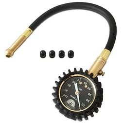 Motor Luxe Tire Pressure Gauge 100 PSI - Accurate Heavy Duty