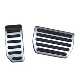 No Drill Steel Gas Brake Pedal Cover for Volvo S60 XC60 V60