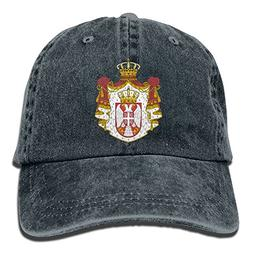Novelty Unisex-Adult Coat of Arms of Serbia Classic Cotton H
