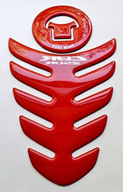 RZ Moto Red Polyurethane plastic Motorcycle Tank Protector P
