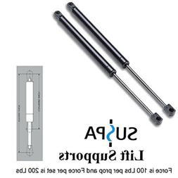 """Suspa C16-15953 35.43"""" Gas Prop/Strut - Set of Two - Force i"""