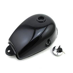 TC-Motor Black Fuel Gas Tank Cap Cover With Keys For Honda M