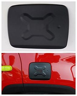 FMtoppeak Aluminum Fuel Filler Door Cover Gas Tank Cap for J