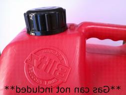 Blitz Gas Can Cap transportation & storage closed screw cap