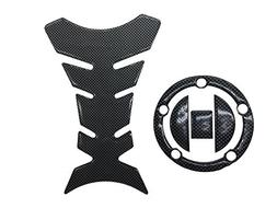 Carbon Look Firber Motor Gas Cap Tank Pad Sticker For Suzuki