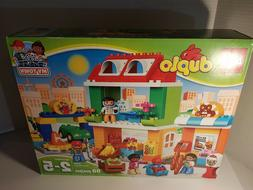 Duplo Town Square 98-Pieces My Building Toy Set 10836 NIB FR