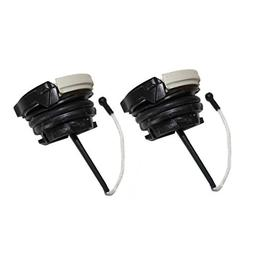 Poweka Pack of 2pcs Fuel Tank Cap for Stihl BR500 BR550 BR60