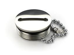 Whitecap Industries Replacement Cap and Chain-Deck Fill Repl