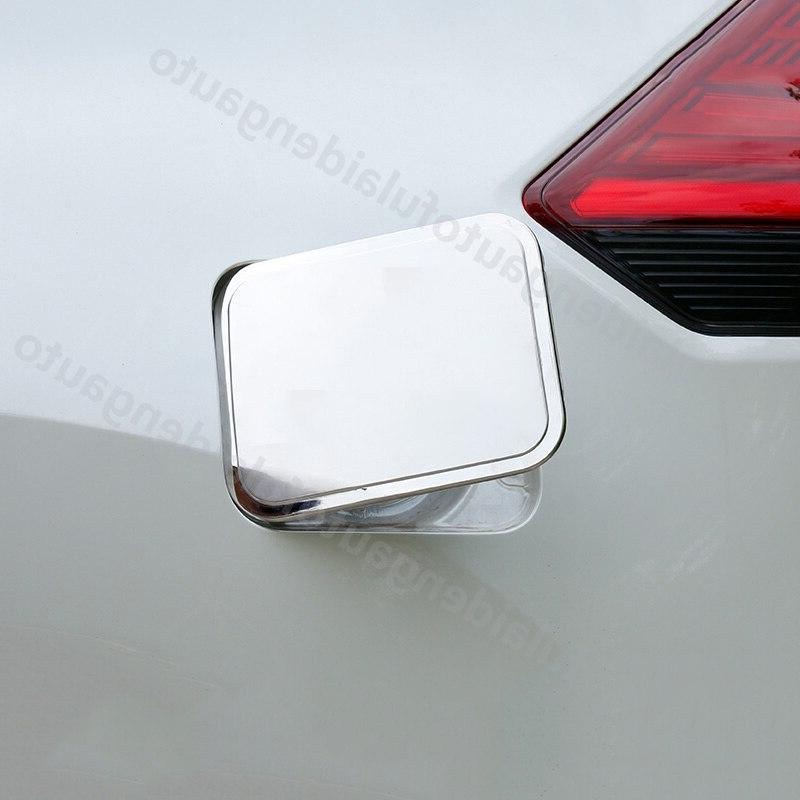 1pcs For <font><b>Nissan</b></font> Rogue X-Trail 2014-2019 Fuel <font><b>Cap</b></font> Overlay Trim Styling