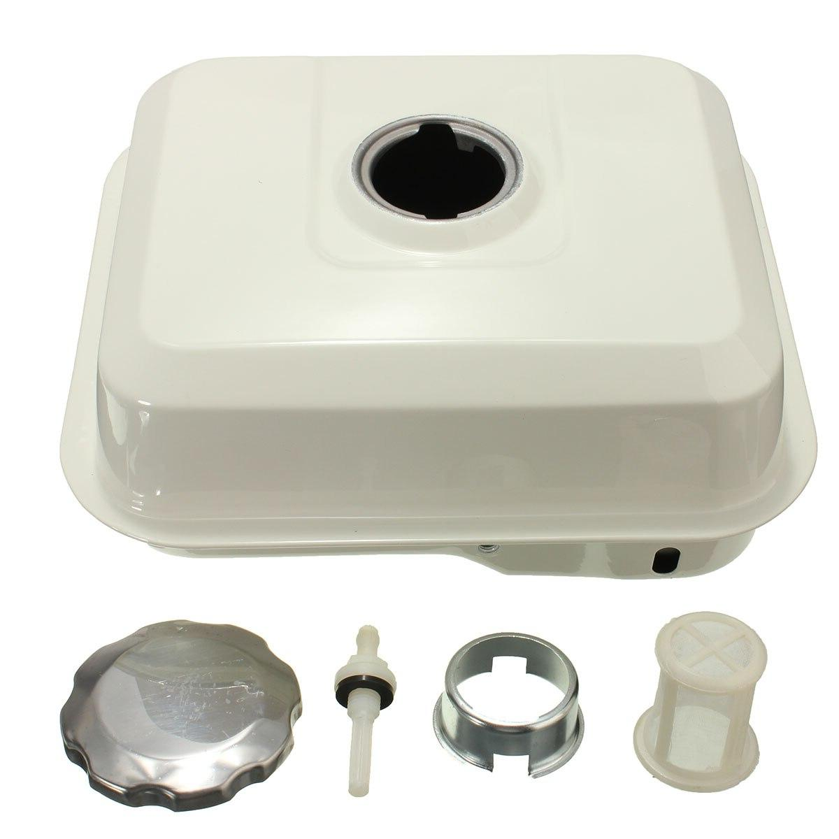 4L Fuel with Filter White GX140
