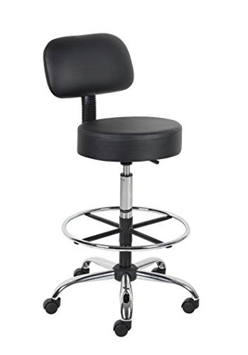 Drafting Stool with Black