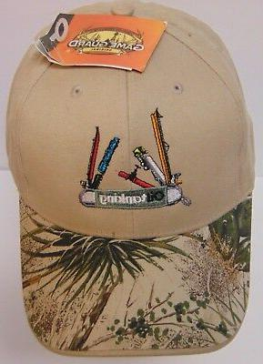 New Chemical ADVERTISING TAN CAMO HAT