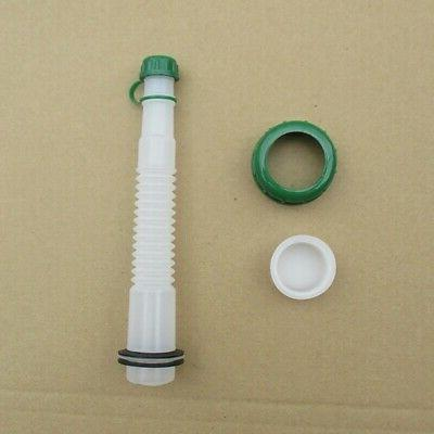 New Replacement Gas Can Spout and Parts Cap Kit Conventional