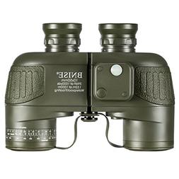 BNISE Military HD Binoculars for Adults, Navigation Compass