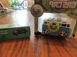 "Maisto Vw Volkswagen Bus ""Gas Caps"" 1/43 w/Bug Sharpner 1/50"
