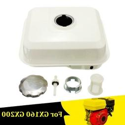 White Engine Fuel Gas In-Tank & Filter Cap Petcock For Honda